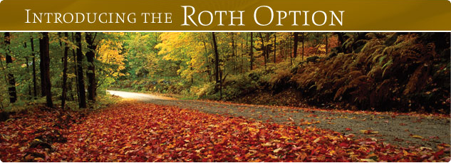 Introducing the ROTH OPTION.