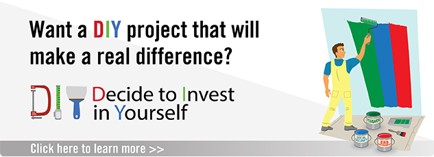 For your DIY list this summer... Decide to Invest in Yourself. Click here to learn more.