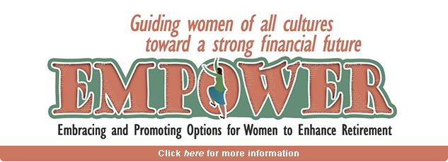 Guiding women of all cultures towards a strong financial future...