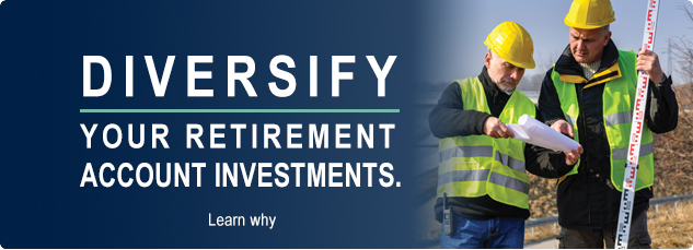 Diversify your retirement account investments. Learn why